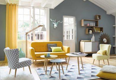 Inspirations, matières et couleurs pour une déco scandinave